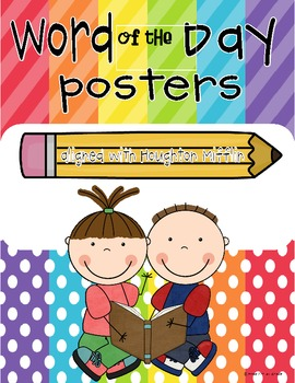 Word of the Day Posters {Sight Word Edition}