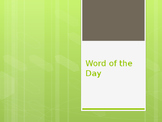 Word of the Day Powerpoint