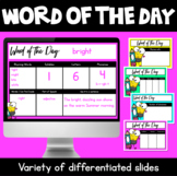 Word of the Day Powerpoint & Posters