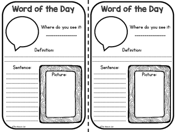 Word of the Day - Science Vocabulary Practice (5th Grade)