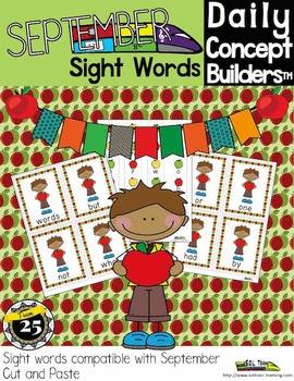 Apple Sight Word Center