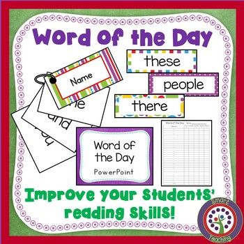 Word of the Day - Sight Word Program