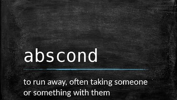 Word of the Day Slide Show