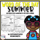Word of the Day - Summer