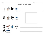 Word of the Day Template - Picture Support