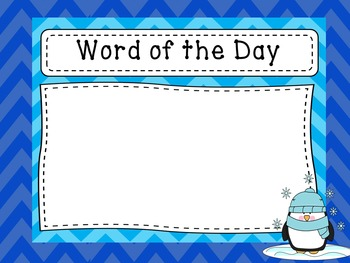 Word of the Day - Unit 2 - Second 9 Weeks