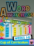 Vocabulary - Word of the Day - Weeks 1-8