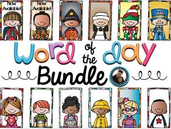 Word of the Day ~Yearlong Bundle