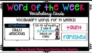 Word of the Week!