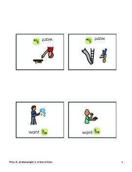 Word of the Week 1: Want - SYMBOLSTIX - assistive technology, aac, speech