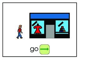 Word of the Week 13 Go - BOARDMAKER - assistive technology, aac, speech