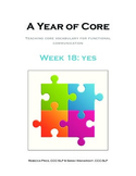 Word of the Week 18: Yes - BOARDMAKER - assistive technology, aac, speech
