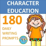 180 Daily Writing Prompts for Character Education (Print-N-Go)