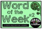 Word of the Week #2