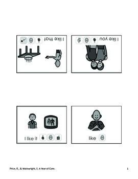 Word of the Week 20: Like - BOARDMAKER - assistive technology, aac, speech