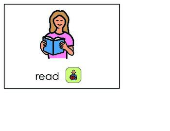 Word of the Week 23: Read - BOARDMAKER - assistive technology, aac, speech