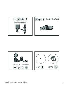 Word of the Week 30: Some/One - BOARDMAKER - assistive technology, aac, speech