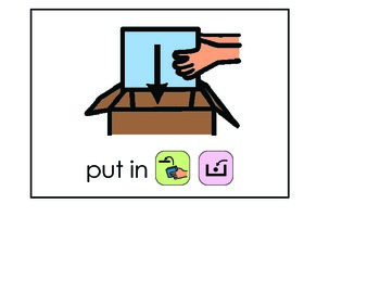 Word of the Week 31: Put - BOARDMAKER - assistive technology, aac, speech