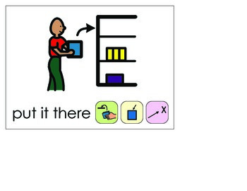 Word of the Week 34: There - BOARDMAKER - assistive technology, aac, speech
