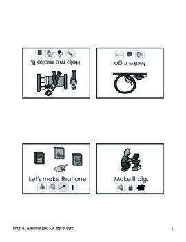 Word of the Week 38: Make - BOARDMAKER - assistive technology, aac, speech