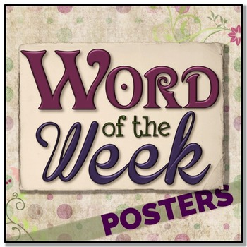 Word of the Day/Week POSTERS Vol. I