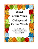 Word of the Week - College and Career
