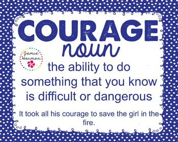 Word of the Week - Courage