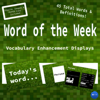 Word of the Week I