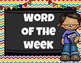 Word of the Week Labels
