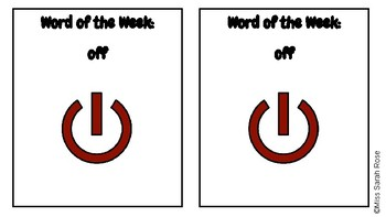 Word of the Week: OFF adapted book