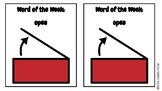 Word of the Week: OPEN adapted book