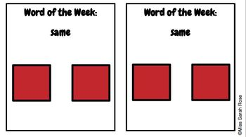 Word of the Week: SAME adapted book