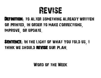Word of the Week - SBAC