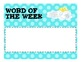 Character Building Word of the Week: Sunny Side Up!