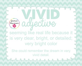 Word of the Week - Vivid