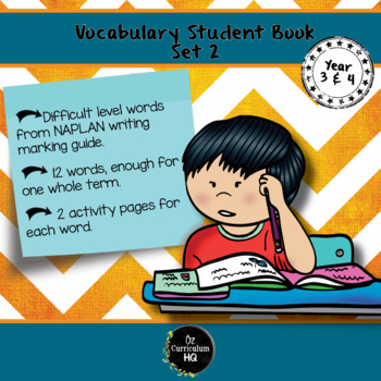 Word of the Week Vocabulary for Year 3 and 4 {Set 2}
