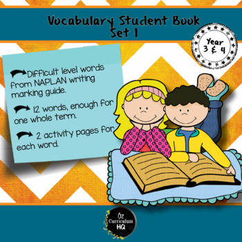 Word of the Week Vocabulary Set for Year 3 and 4