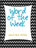 Word of the Week and Word List