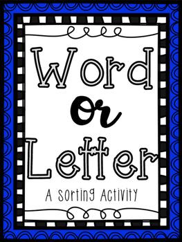 Word or Letter Sort