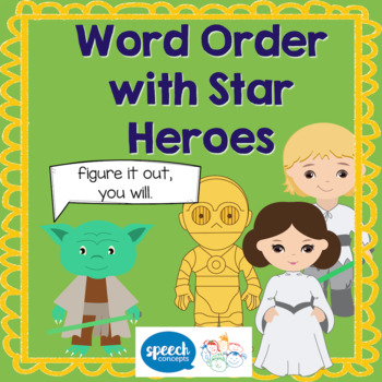 Word order with Star Heroes