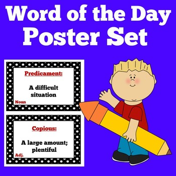 Word of the Day Poster Set