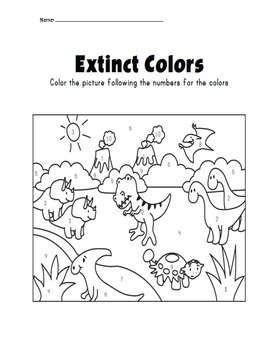 Word problem color by numbers