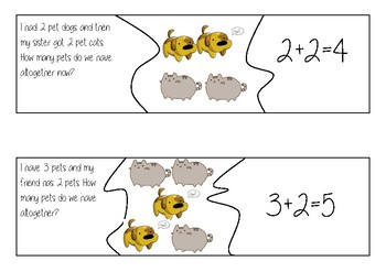 Word problem puzzles
