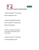 Word problems Worksheet: Unit Rates with Fractions