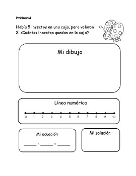 Word problems in Spanish