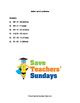 Word Problems Lesson Plans, Worksheets and Other Teaching
