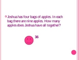 Word problems: multiplication and division