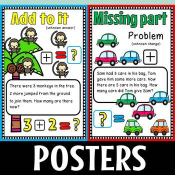 Word problems set 1,2 and compare bundle