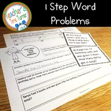Word problems - solving 1 step word problems