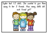 Word problems with picture prompts